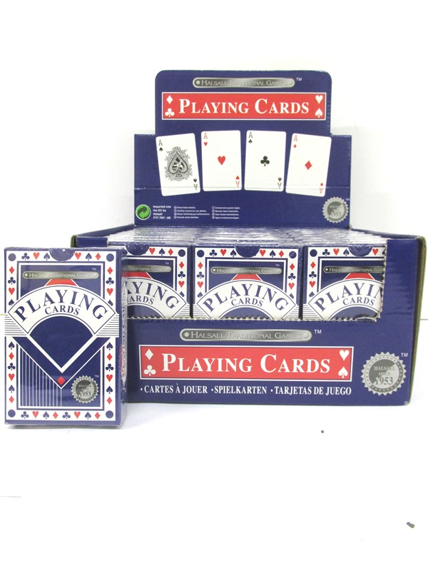 Image of Plastic Coated Playing Cards Pk24