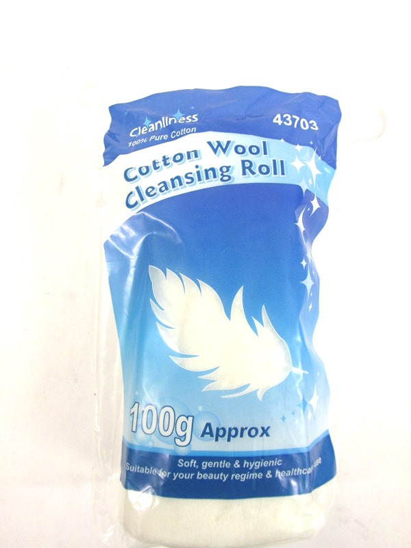 Image of Cotton Wool Cleansing Roll 12x100g