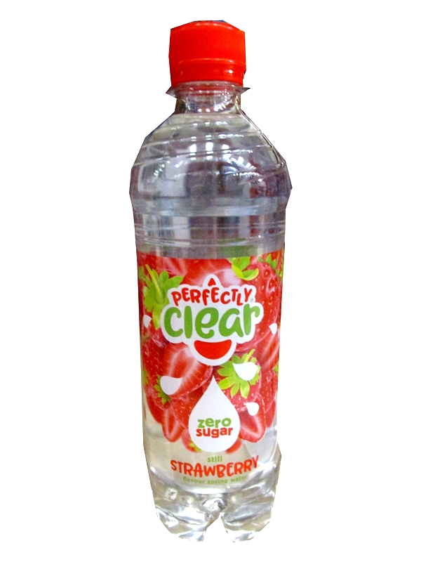 Image of Perfectly Clear Strawberry Water 24x500ml