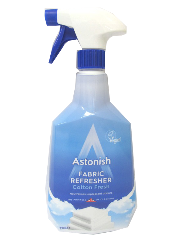 Image of Astonish  Fabric Refresher Pk/12x750ml Cotton