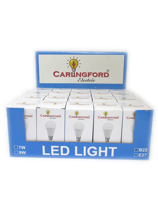 Image of Carlingford Led Bulb Pk20 7w B22