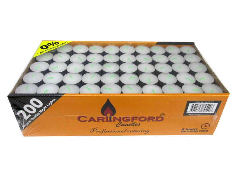 Image of Carlingford Tealights 8hrs 3x200's W/s Only