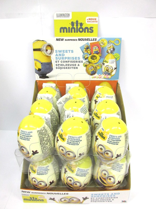 Image of Surprise Egg Minions Pk18