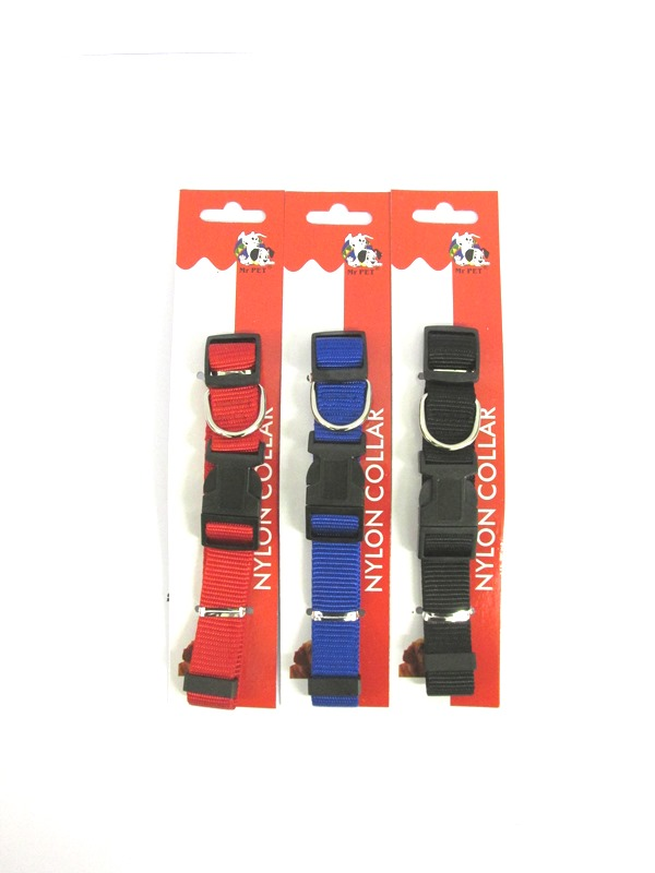 Image of Dog Collar 2.0cm Pk24 Nylon Asst