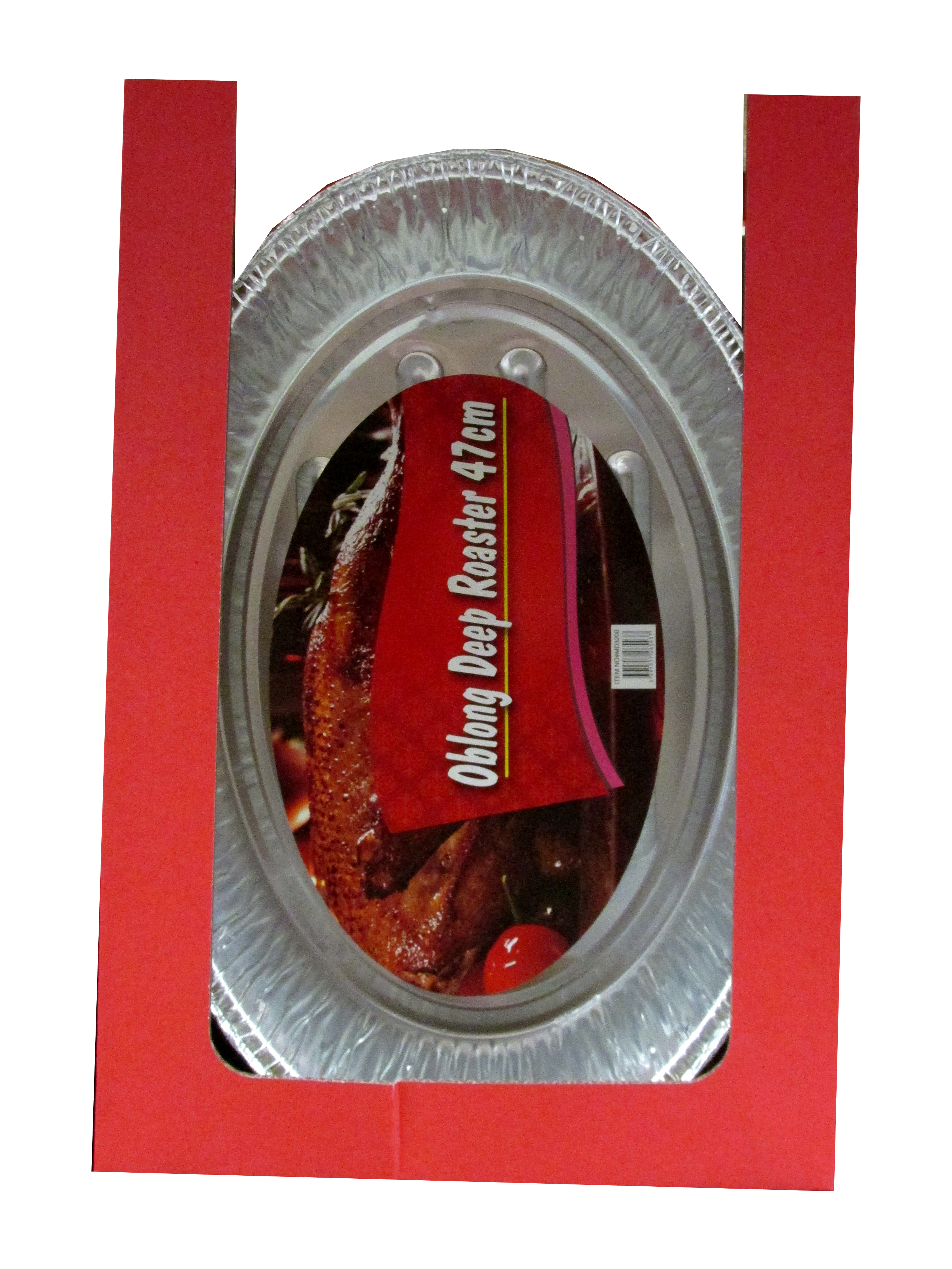 Image of Foil X-Large Oval Deep Roaster 47cm Pk24