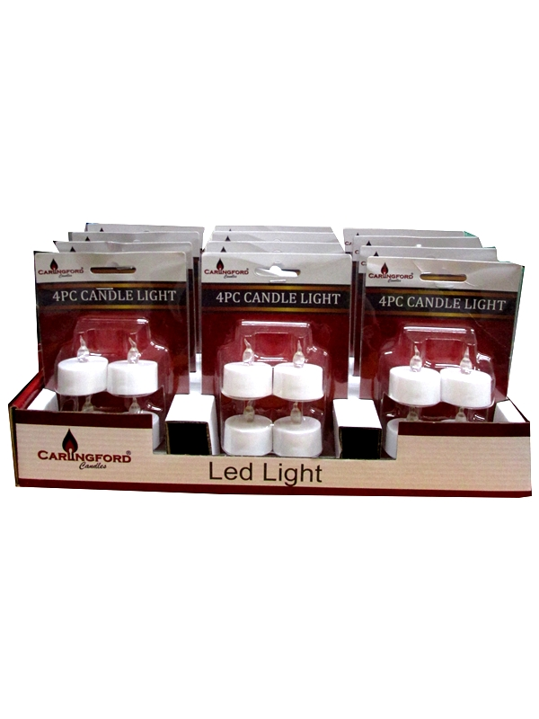 Image of Battery Operated Tealights 12x4's Md3673