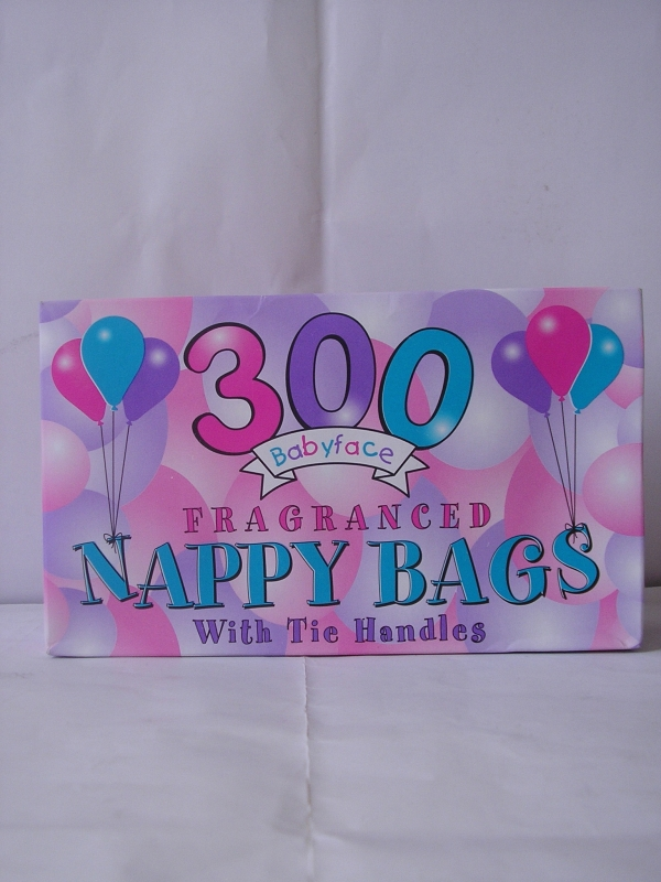 Image of Nappy Bags 300'S   Pk/24
