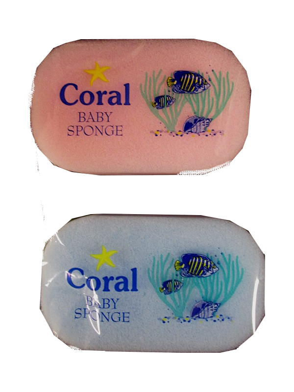 Image of Coral Baby Sponge Pk/10