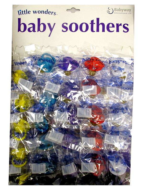Image of Little Wonder Soothers Pk/25