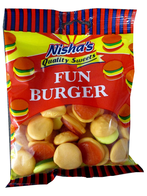 Image of Nisha Fun Burger  12 X 120g