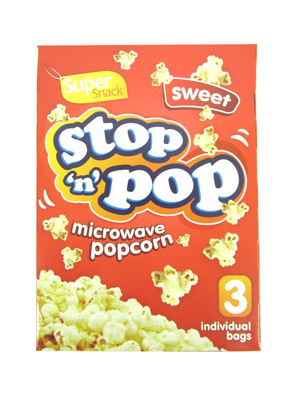 Image of Super Snack Popcorn 16x3'S Sweet 200611