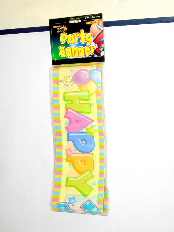 Image of B'Day  Banner Pk24 (2.7m) Age 2