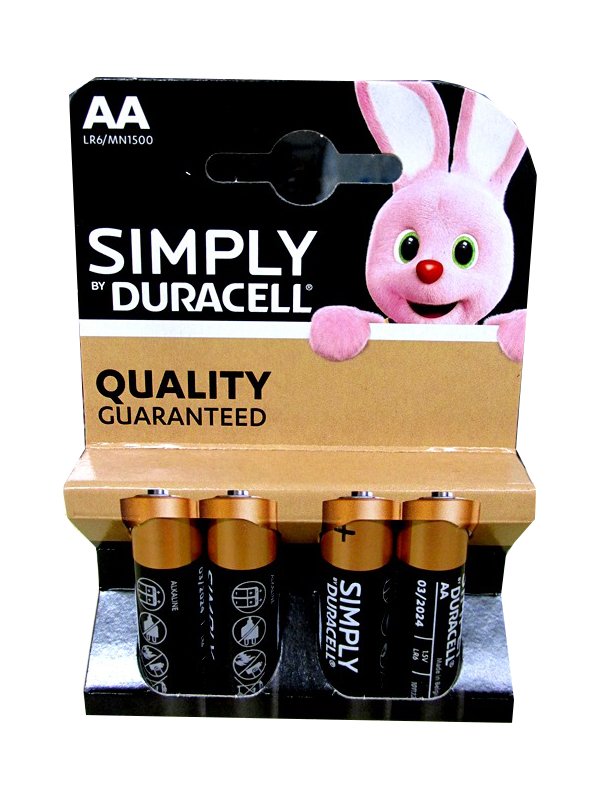 Image of Duracell Basic/ Simply Aa 20x4'S