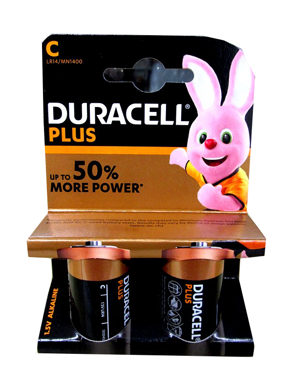 Image of Duracell Plus Power C  10x2's Qy14x
