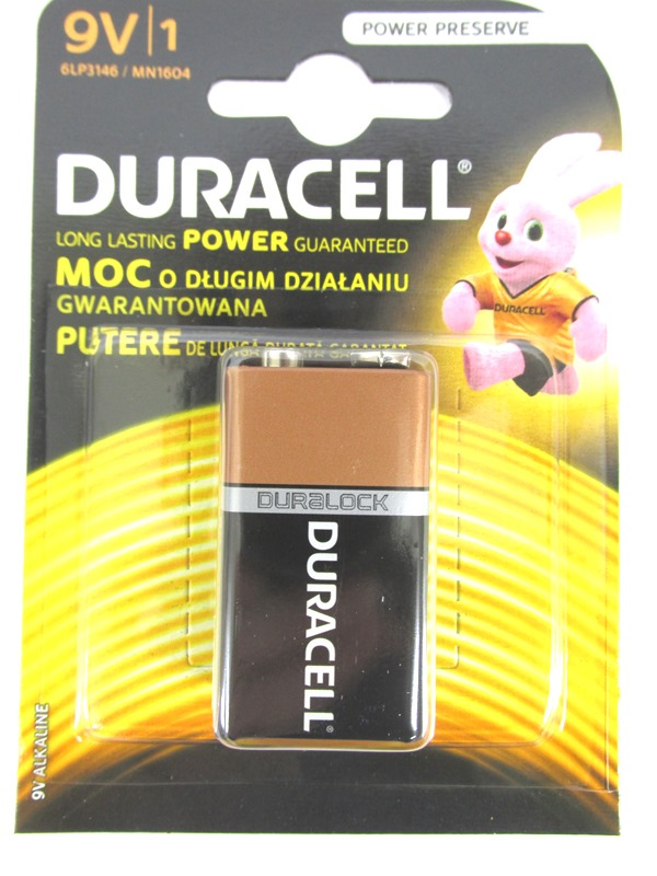 Image of Duracell 9-Volt 10x1's Qy17